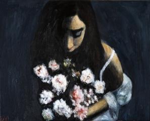 Midnight flowers_40x50cmwp